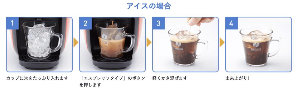 バリスタアイスコーヒーの作り方